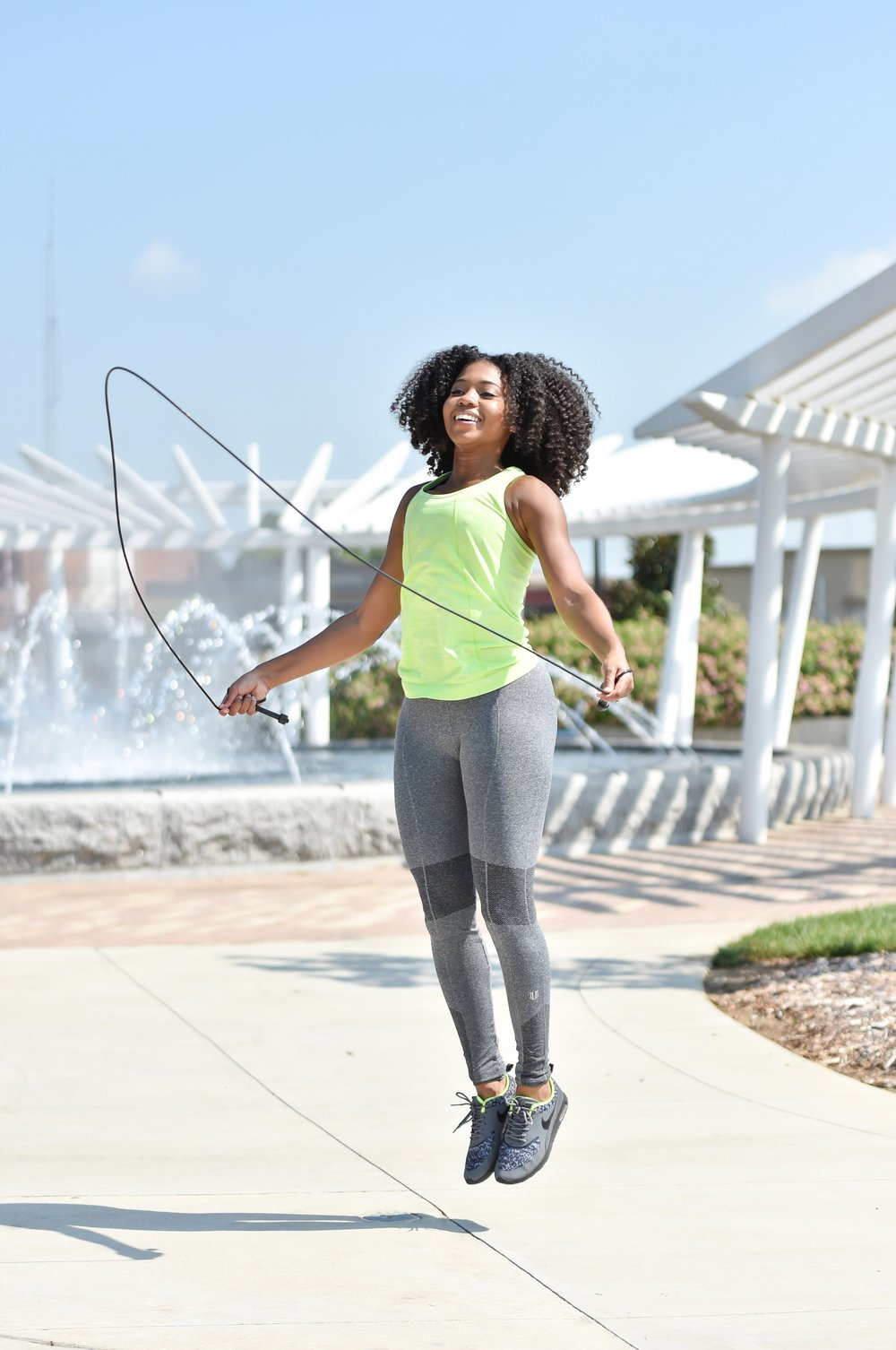 Just Being Britt Fitness Lifestyle Blog EleVen by Venus Williams Brand Ambassador Seamless Collection