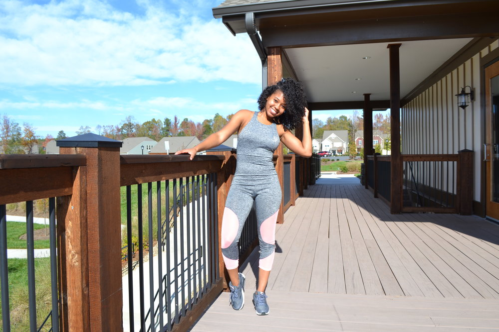 Fitness Lifestyle Blog Just Being Britt Brittany Jenkins Fitness Jumpsuit Style
