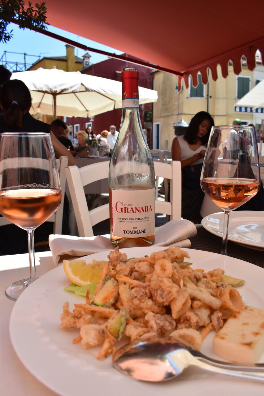 Just Being Britt Jenkins Fitness Lifestyle Travel Blog Spring Burano Italy Style Riva Rosa Restaurant