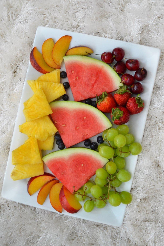 Just Being Britt Jenkins Fitness Lifestyle Beauty Blog Summer Fruit Ideas Plate