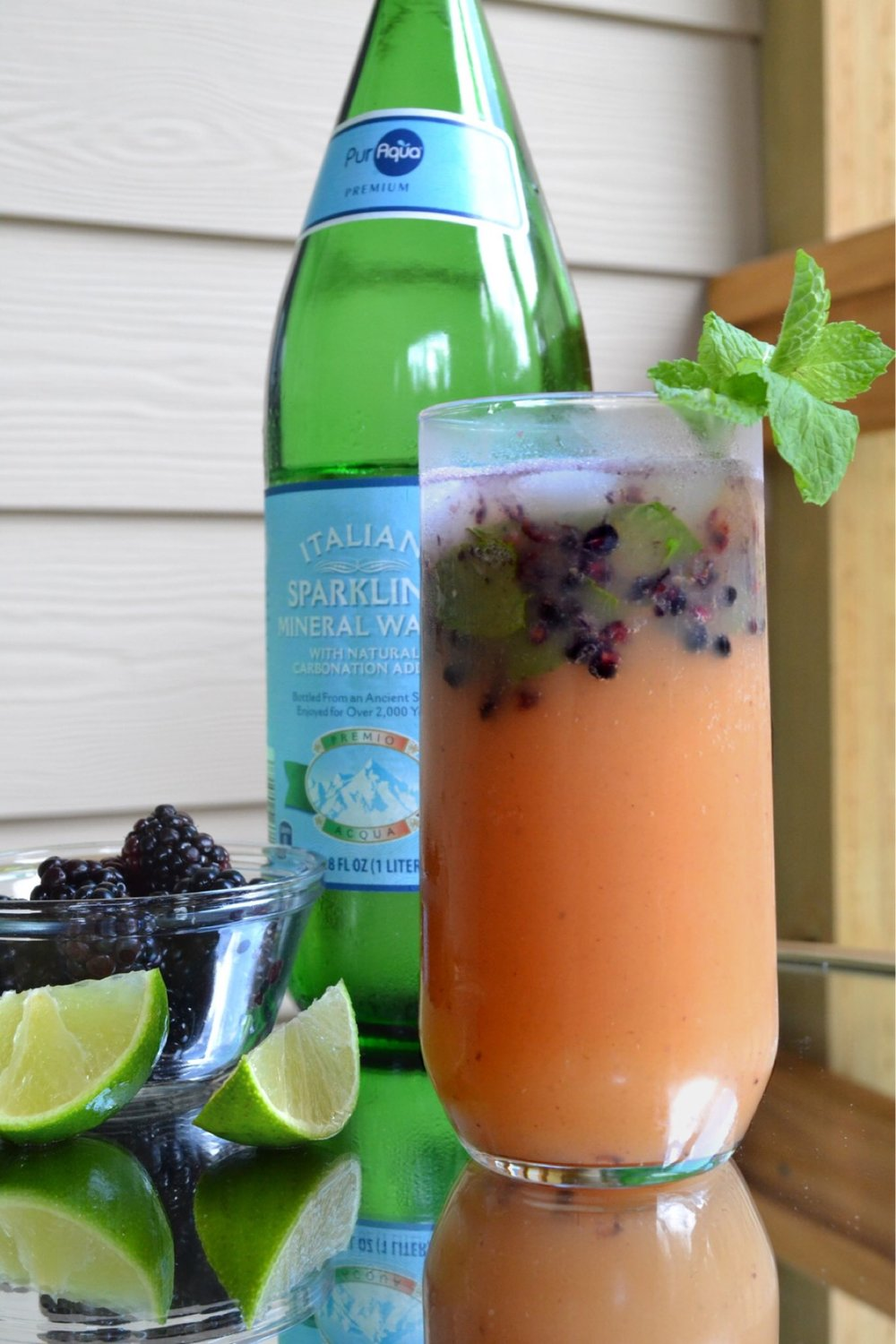 Just Being Britt Jenkins Fitness Beauty Lifestyle Blog Pregnancy Journey Mocktail Monday Blackberry Mojito