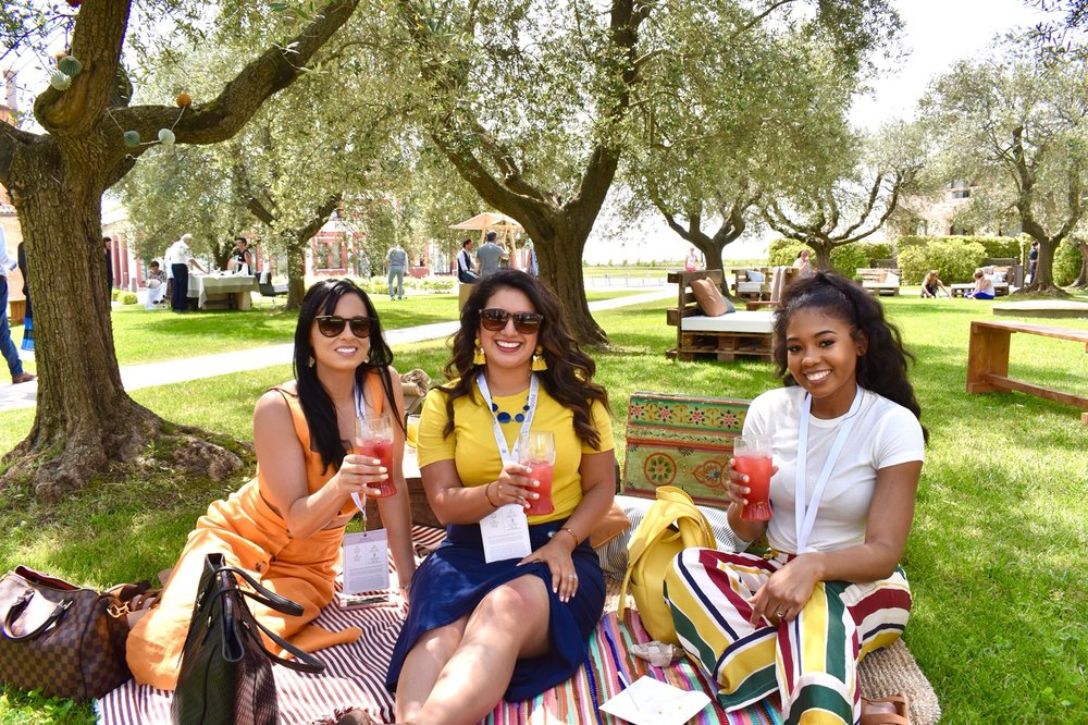 Thankful they served  mocktails  during the Venice Food & Wine Festival!