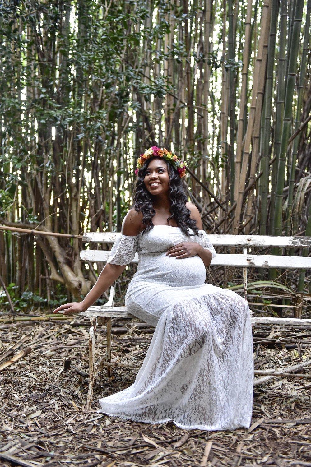 Just Being Britt Brittany Jenkins Pregnancy Journey Boho Maternity Shoot #BabyJenkinsJourney Rudy Jefferson Photography