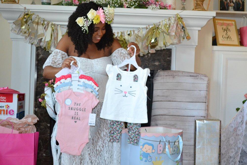 Just Being Britt Brittany Jenkins Boho Baby Shower Brunch Pregnancy Journey #BabyJenkinsJourney