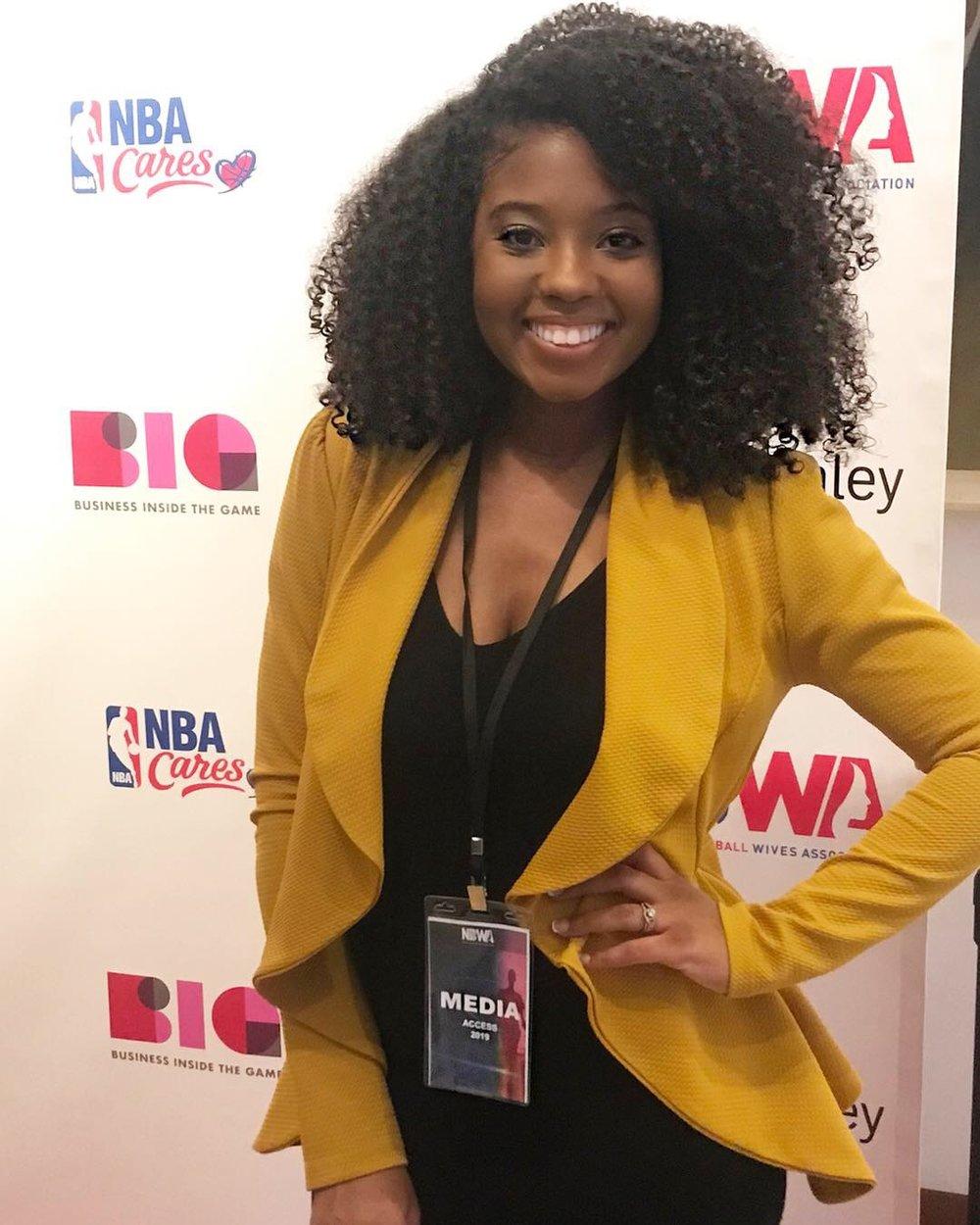 Just Being Britt JustBeingBritt NBWA National Basketball Wives Association Women's Empowerment Summit 2019