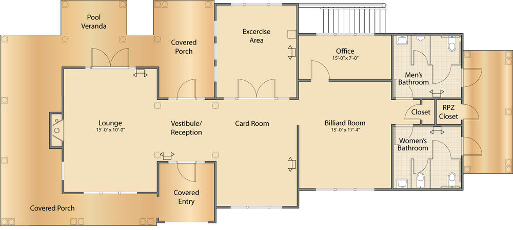 Clubhouse Layout