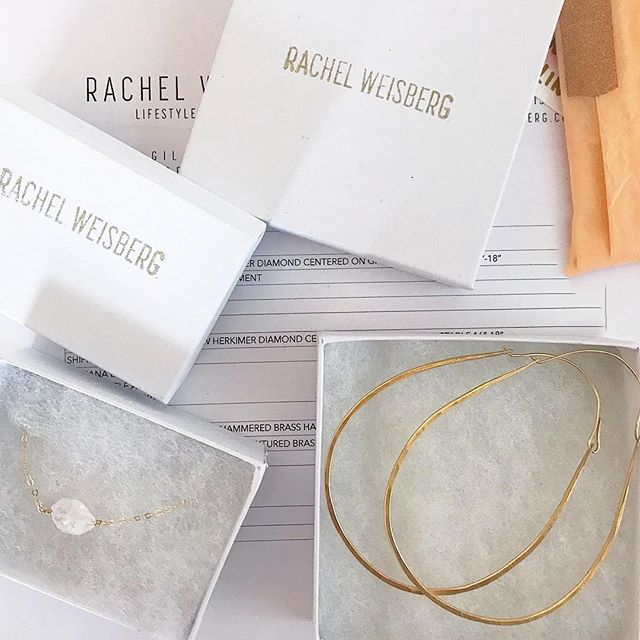 J E W E L S | getting ready to ship out new jewelry styles, simple packaging and getting things done #mondaygoals