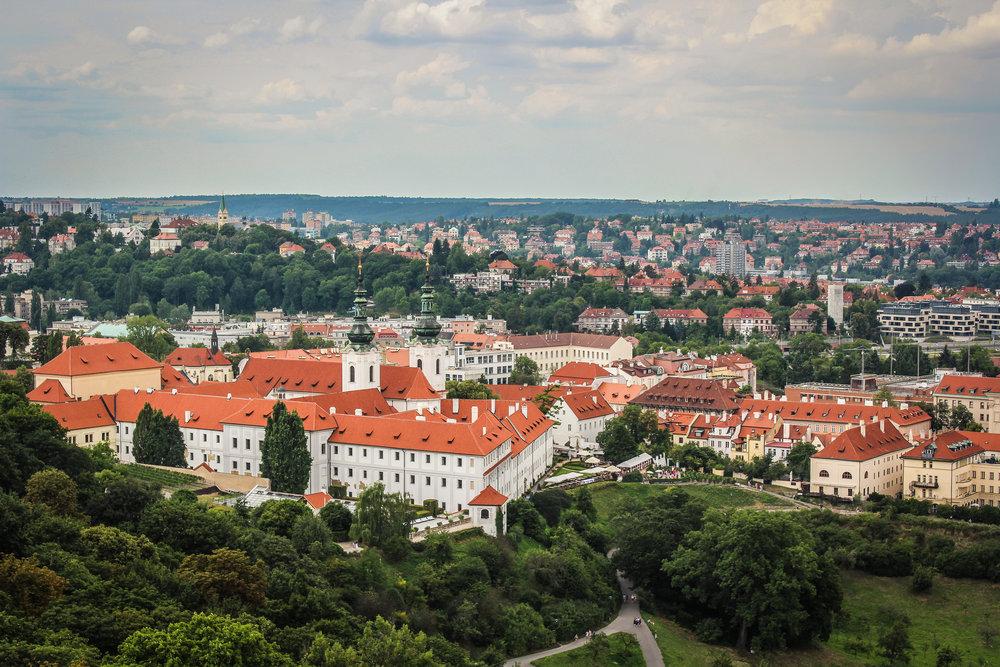 Prague Castle - Minimalism - Ania Klaudia Kats