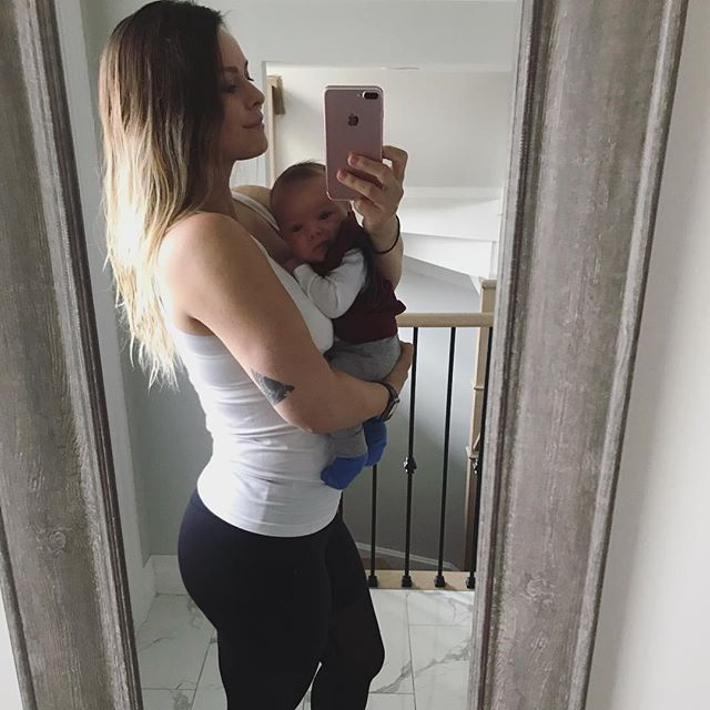 How is my little man, @Benjamin.Jacob.Kats 👶🏼already almost 2 months old?! I wish I could slow down time!  How's Mama?  Doing great, cleared to workout (finally!), but now finding a way to let him put me down long enough to do a rep will be my challenge - he just loves cuddling too much❤️. The journey back to fit will definitely come with new challenges for me, being away from the gym for about 11 months now, and learning to juggle a boat load of new to-do's and responsibilities.  BUT I can't wait to show this little man how much fun it is to play and be active, how amazing it feels to be strong 💪🏼, and why being grateful for health (ours and the health of everyone we love) is so important to us! 😊 • • • • • • • #newmama #fitness #fitnessmotivation #fitnessgirl #babyboy #mamasboy #mamusi #mamusisynek #synek #synekmamusi #synuś @aritzia @aritziaoutfits #aritzia #aritziastyle #girlswithtattoos #girlswithtatts #newbornbaby #newbornboy #babyboy #fitmama #fitmom #fitmoms #fitmomsofinstagram #fitmomsrock #fitmomlife