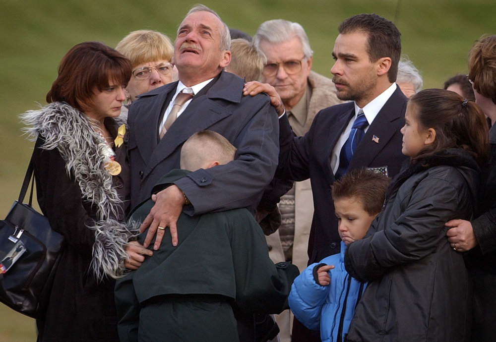 Donald Bucklew grieves for son Ernest, killed early in the Iraq War.