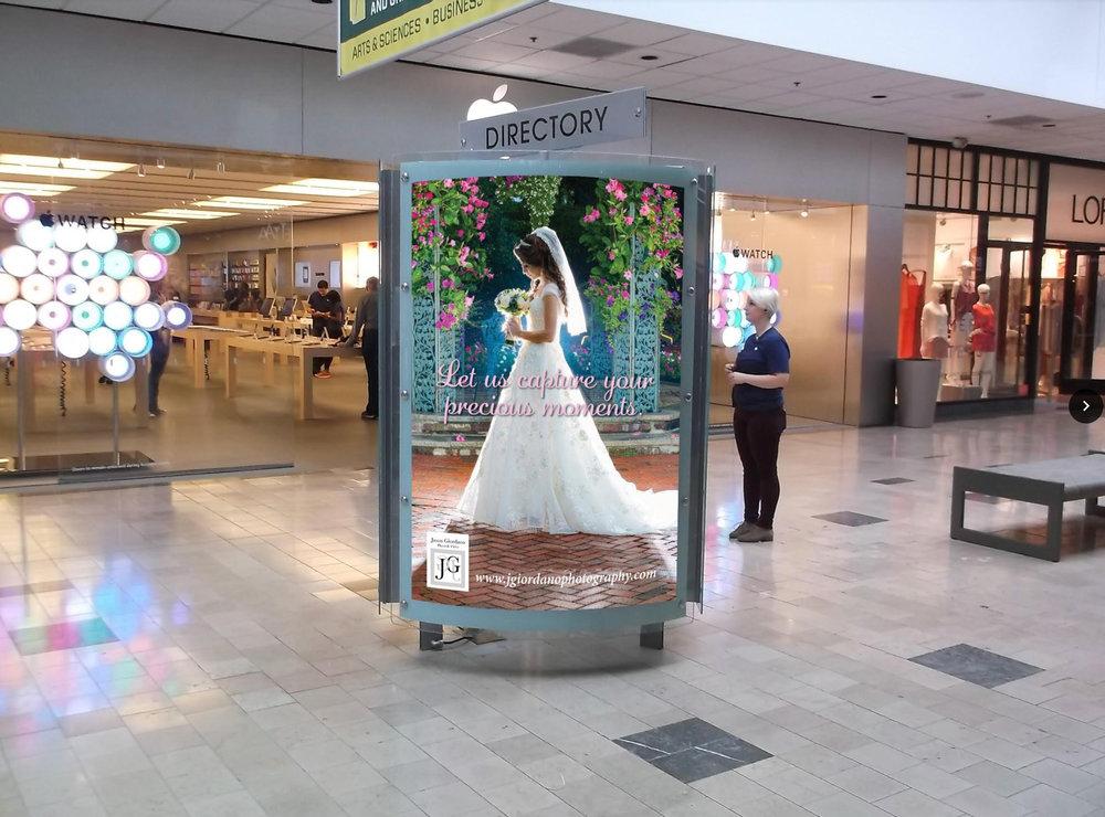 Advertising at Willowbrook Mall Wayne NJ