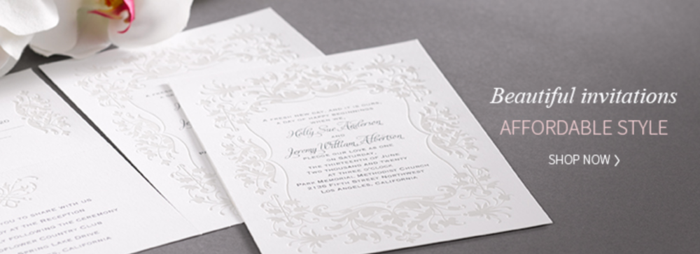 Wedding invitations now available on our website.  Jason Giordano.