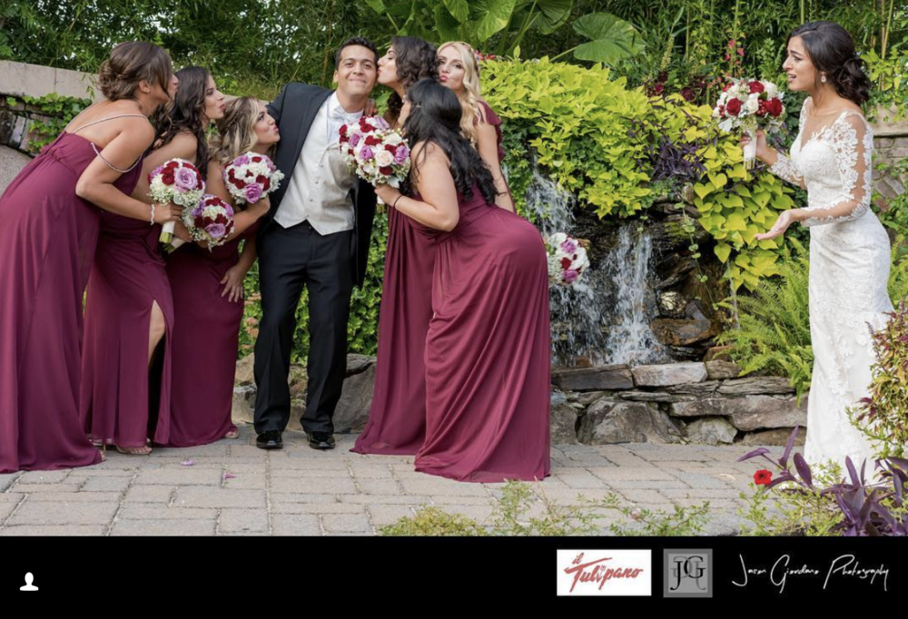 il Tulipano in Cedar Grove. Wedding Photography by Jason Giordano