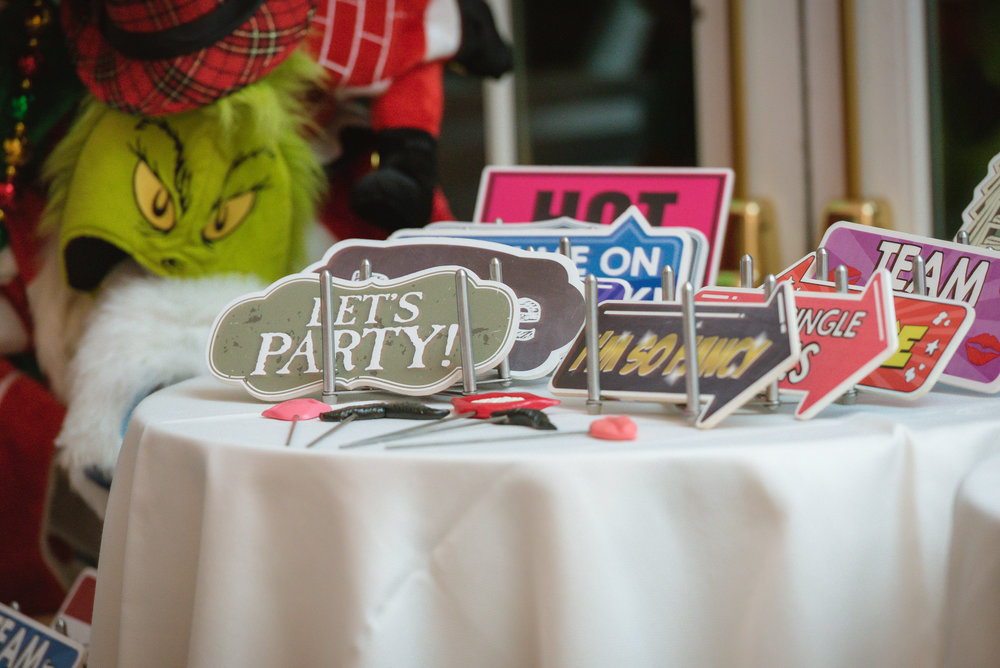 We have a huge variety of high-quality props to make your guests have a blast!