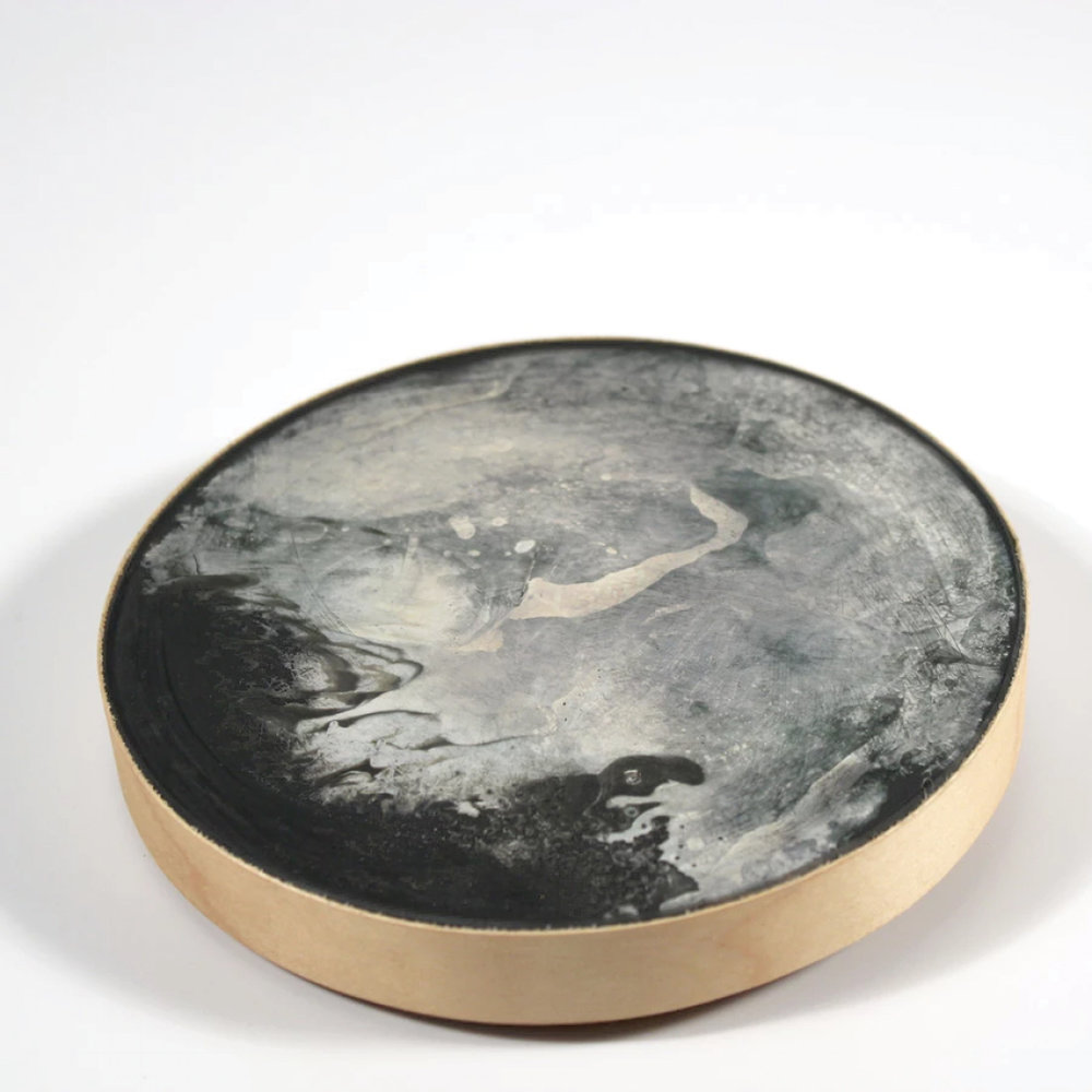 Marble Coaster with Brass/ Broze Detail on Decovo.com