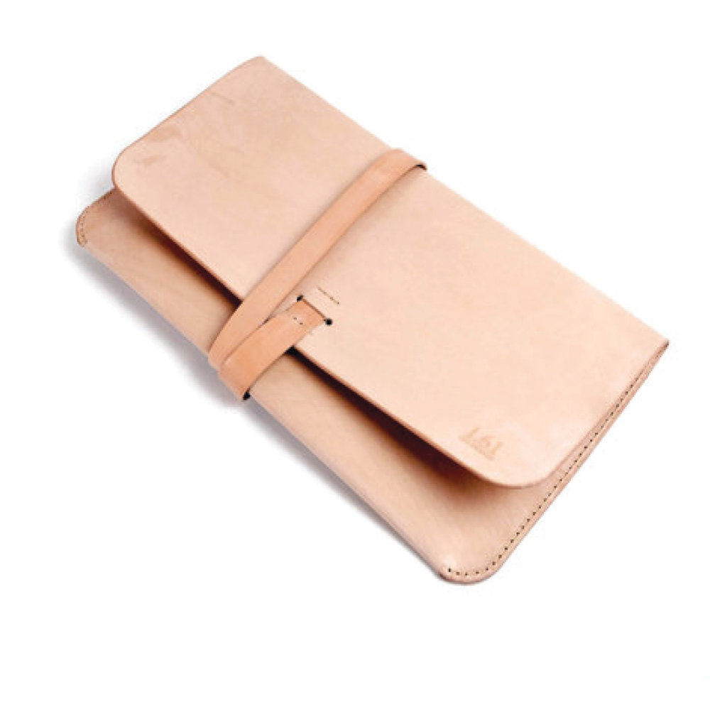 Gift Guide for Her- 2016 - Leather Mac-book Portfolio Clutch