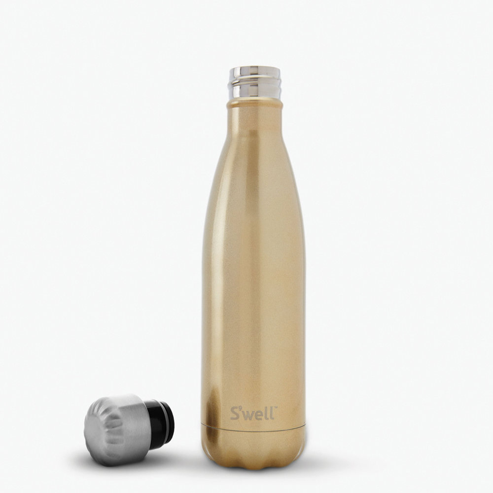 Gift Guide for Her- Swell Bottle in Sparkling Champagne Color