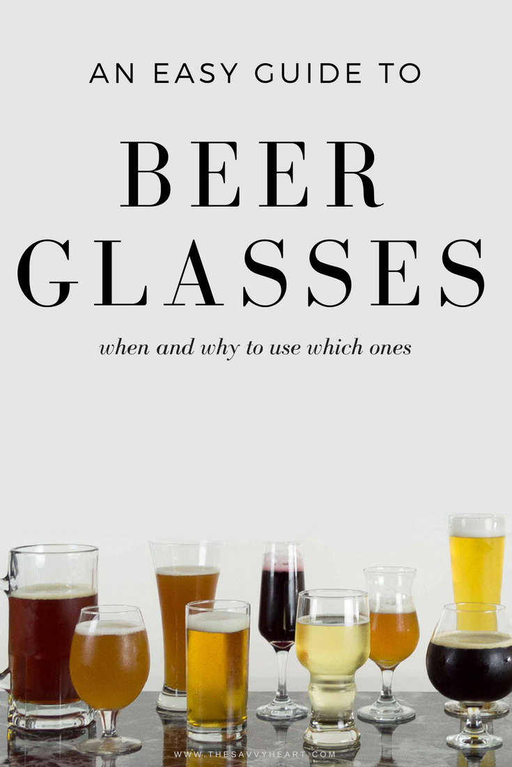 Types of beer glasses and how to choose the right one for your brew