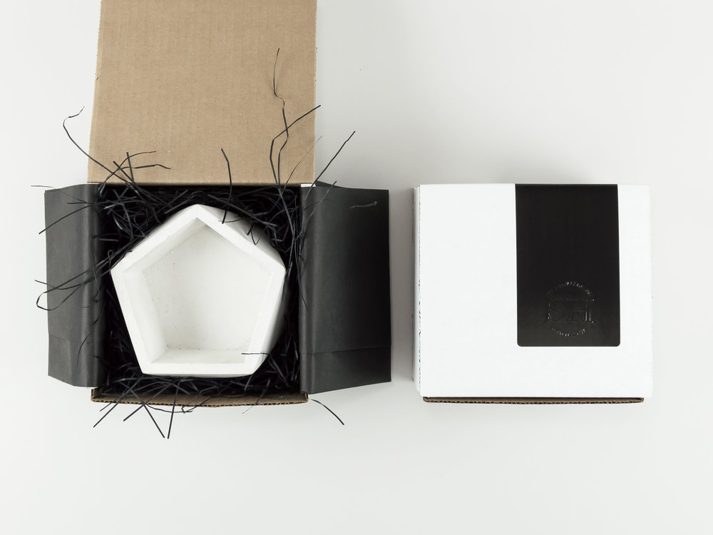 Shipping and Packaging for Concrete Vessels From The Savvy Heart Creative Design Studio