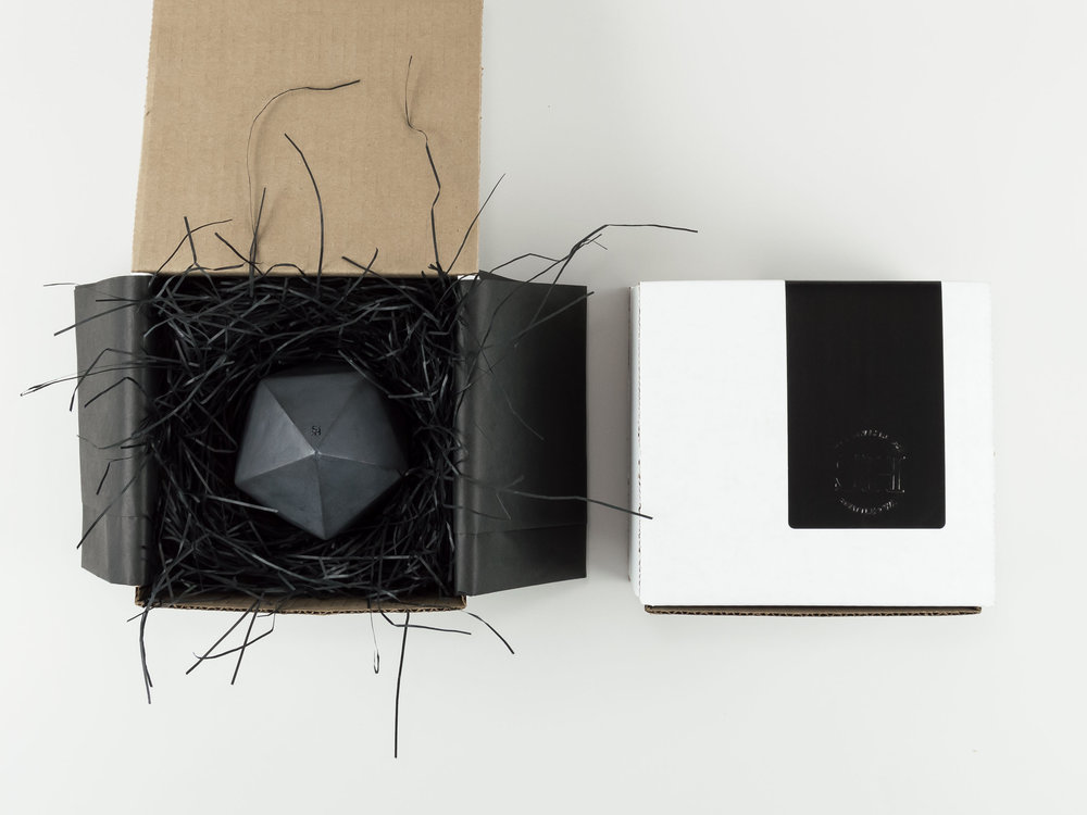 Copy of Packaging and Gift Wrapping for a Concrete Vessel from The Savvy HEart