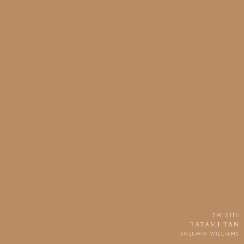 Tatami tan Paint Color by Sherwin Williams