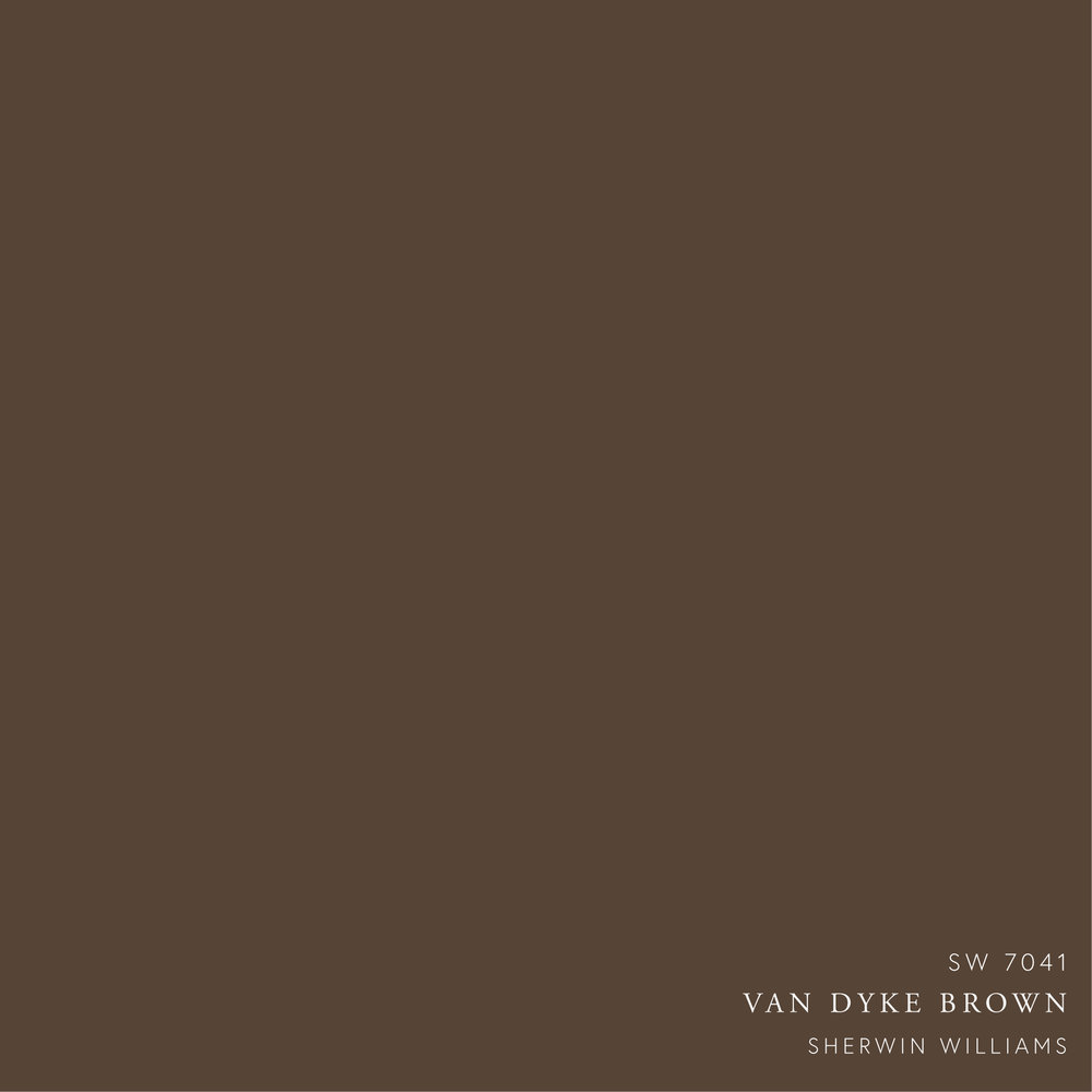 sherwin williams van dyke brown paint color  - fall 2018 trends moody truffle moodboard by the savvy heart-01.jpg