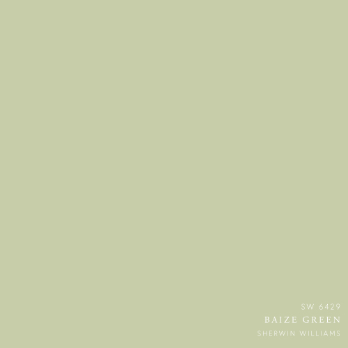 Baize Green Paint Color By Sherwin Williams - How to decorate with greens by The Savvy Heart