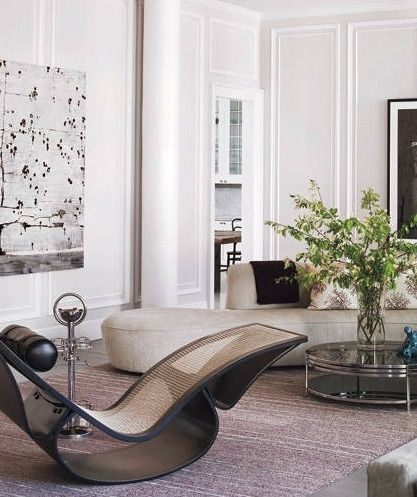 Curved Sofas and Chairs are one of the top interior design trends of 2019