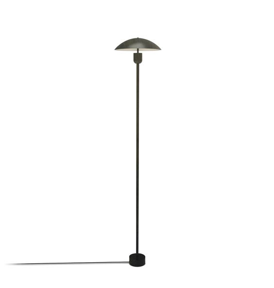 Black Sleek and modern Floor Lamp for a contemporary great room.jpg
