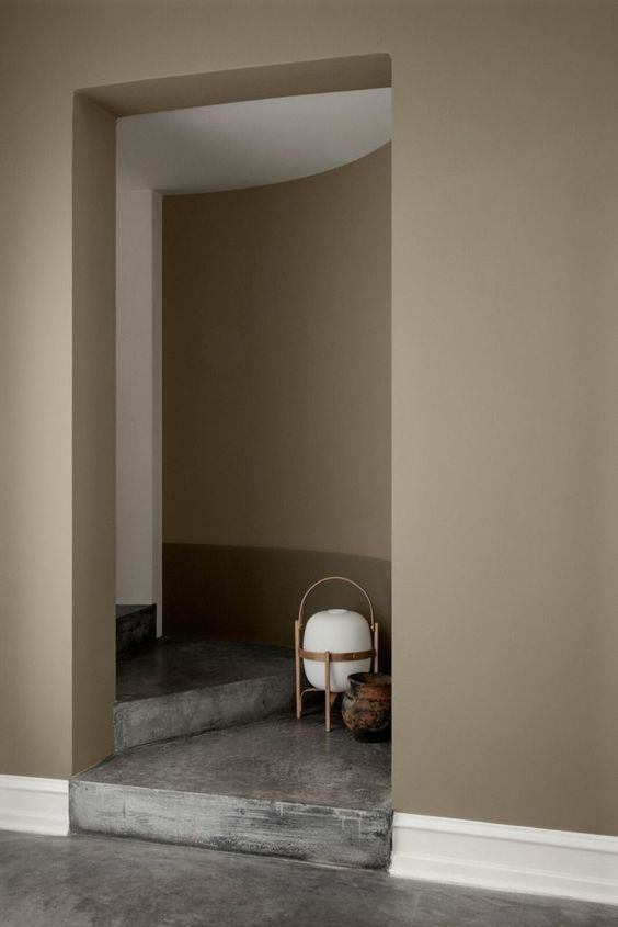 Beige Matte Paint Finish for you Interior Walls