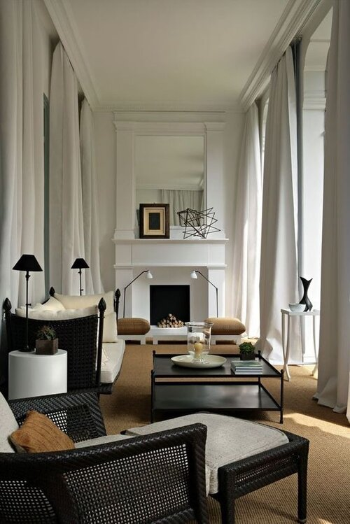 4 Floor Plans Furniture Layout Ideas For A Long Narrow Living Room The Savvy Heart