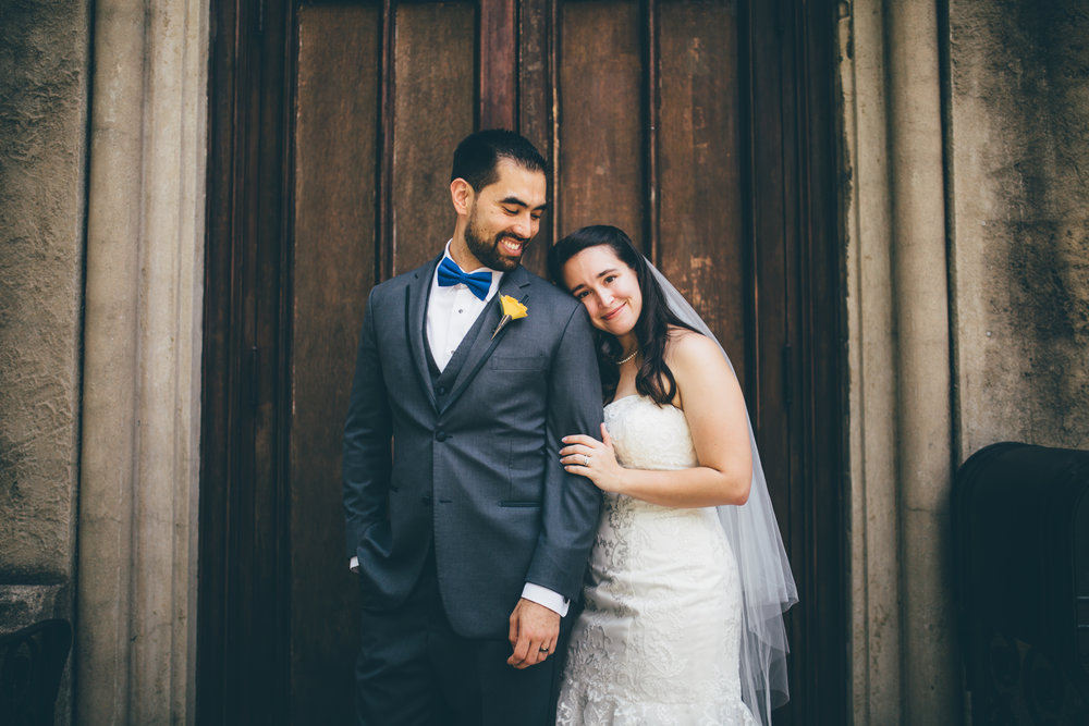 Downtown Macon Wedding