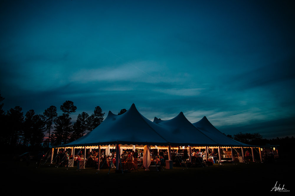 Macon Tent Wedding