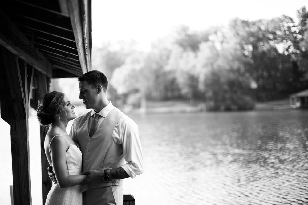 Lake Sinclair Wedding