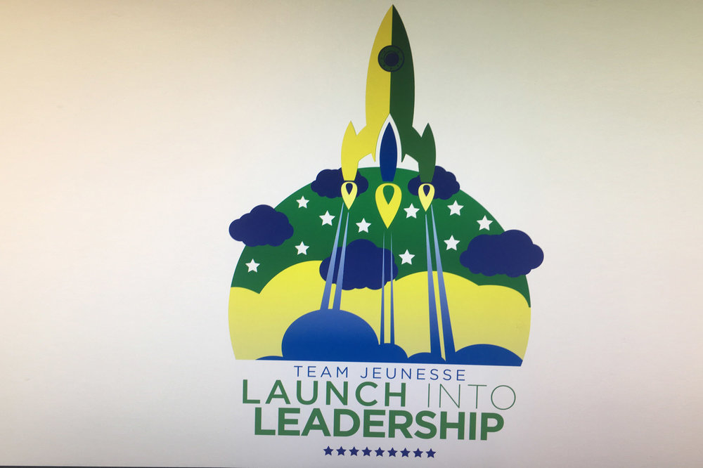 Launch Into Leadership - Brand Design // Print Design // Apparel Design