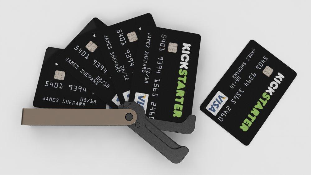 02fae7b2eb97 Credit Card Wallet — Pixel   Timber