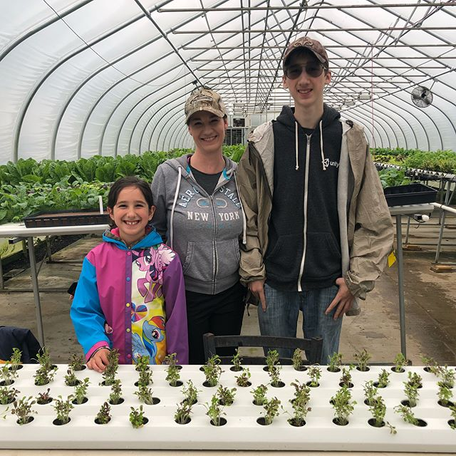 We kicked off our Family Day of Service at Mill Creek Urban Farm this morning! Check out our time volunteering, we got to plant and harvest some greens. If this interest you, then come out and volunteer as a family! They will be open until 4 p.m. #fds2018 Volunteer Center of South Jersey