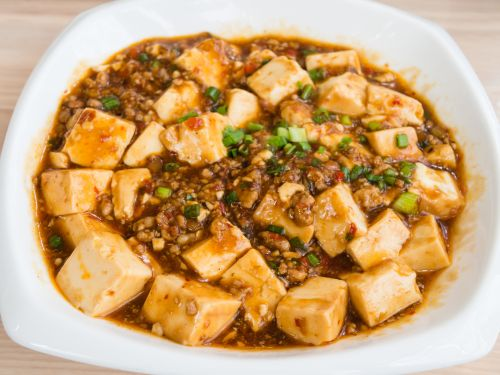 Ma Po Tofu  is one of my family's staple dishes. Along with macaroni and cheese. I was lucky that my parents taught me to Taste All the Things.