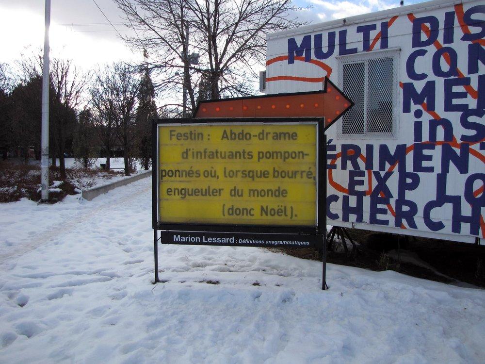 Dans le cadre de la résidence d'écritures publiques de Dare-Dare :  http://dare-dare.org/fr/evenements/marion-lessard