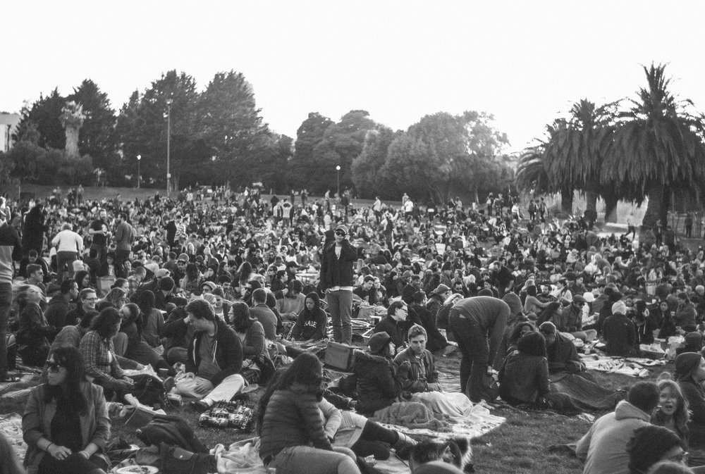 Dolores park movie nights