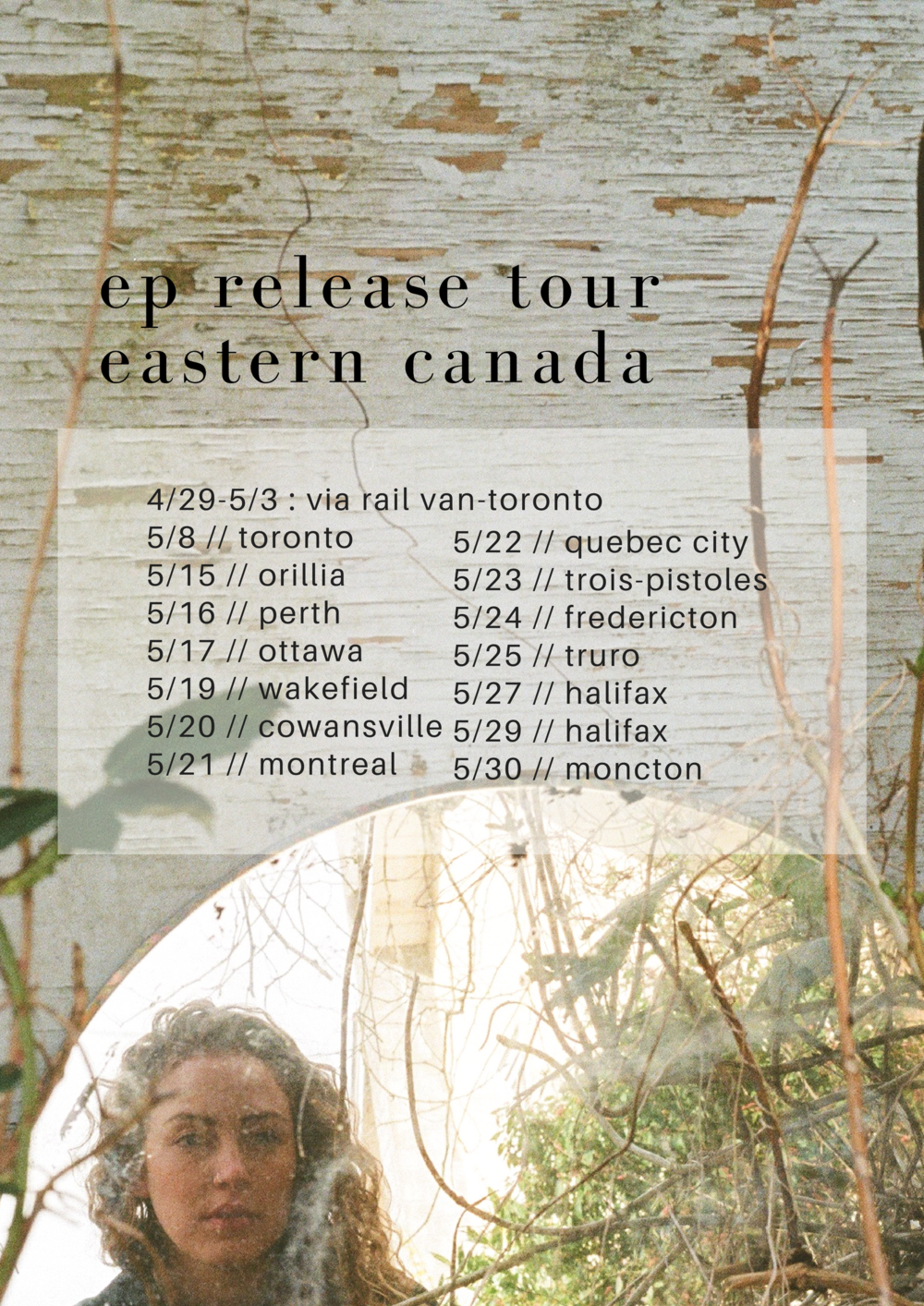 Sam Lynch music eastern canadian tour