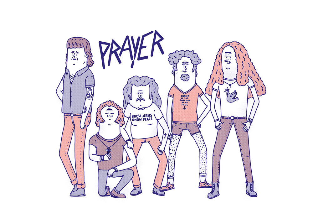Prayer , one of the finest christian rock bands ever.