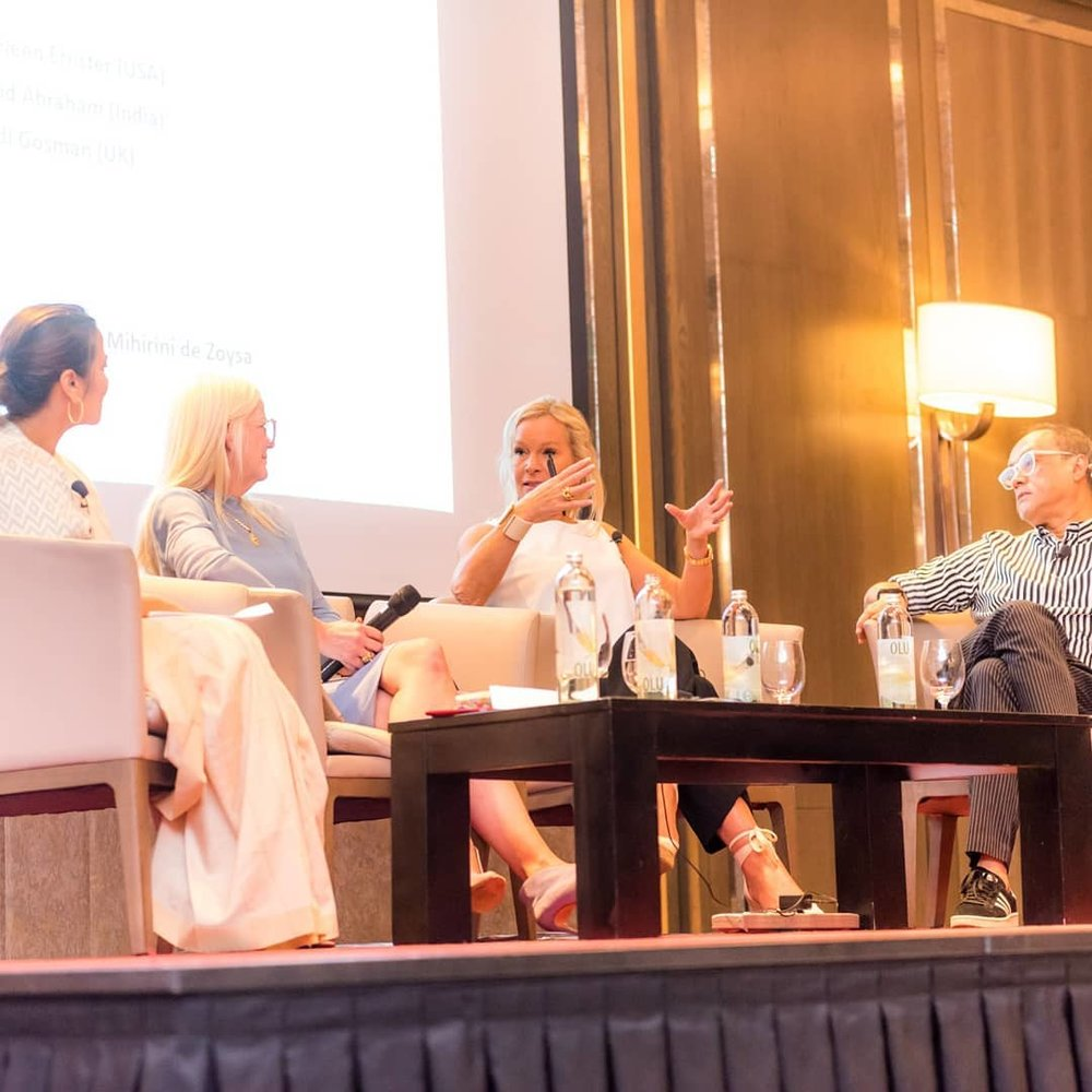 Panel discussion at Responsible Fashion Summit (image copyrights:  Swim Week Colombo )