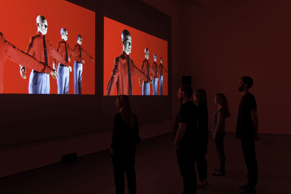 Kraftwerk. 3-D Video-Installation 12345678 - Sprüth Magers Berlin, 2013
