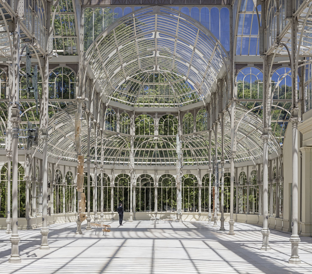 Nairy Baghramian, Breathing Spell, Palacio De Cristal, Madrid, 2018