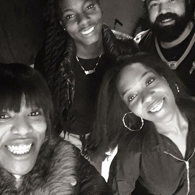 Me and the lovely ladies of #E11EVEN making fire in the studio! Watch out! Amanda Fallon is on the come up!