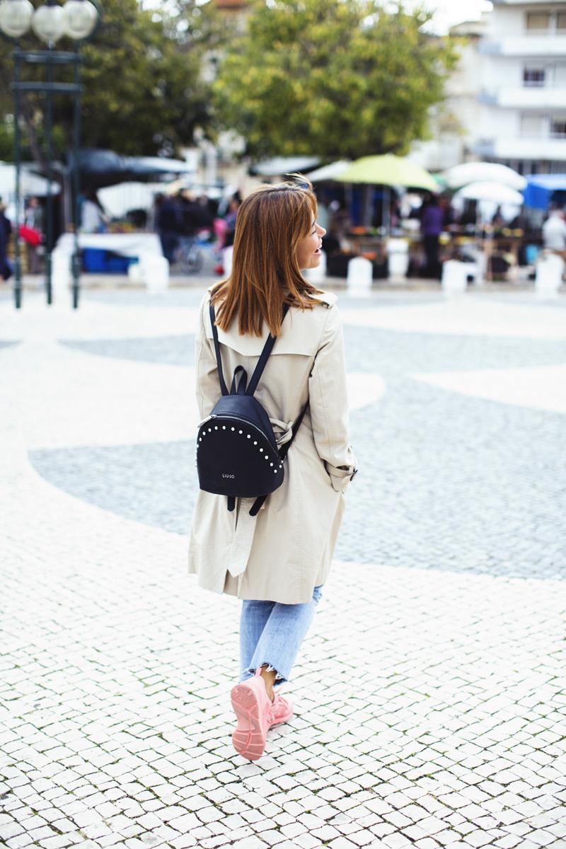 Isabel Silva e um look casual para compras no mercado