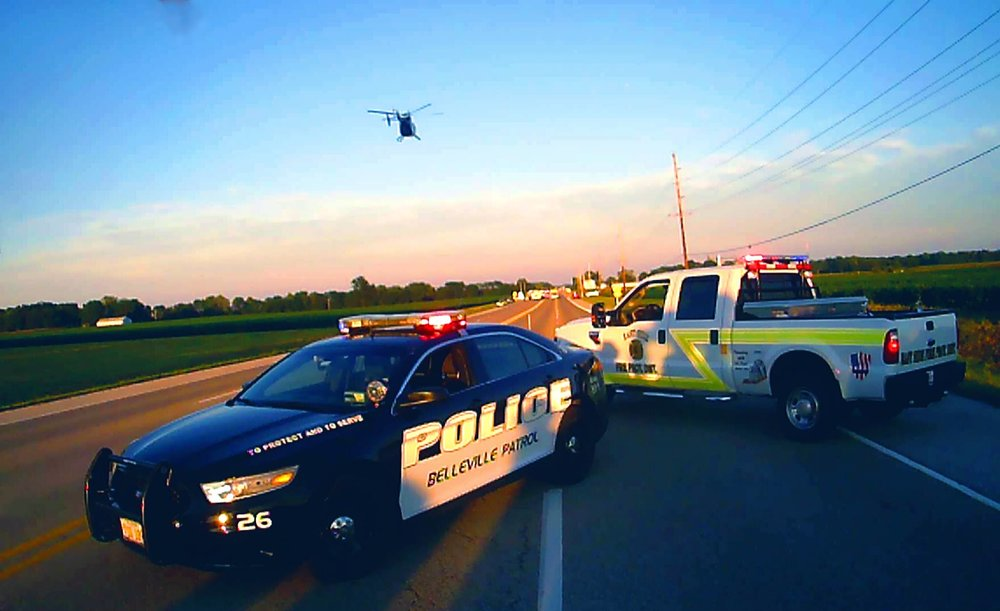 On 4 September 2016, the ESFD responded to a motor vehicle accident with injuries on Carlyle Ave at Radio Range Rd. Two motorcyclists were airlifted by  ARCH Air Medical Services , and both survived their injuries.