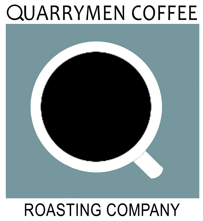 Quarrymen Coffee Roasting Company, local to Bloomington, Indiana since 2008.