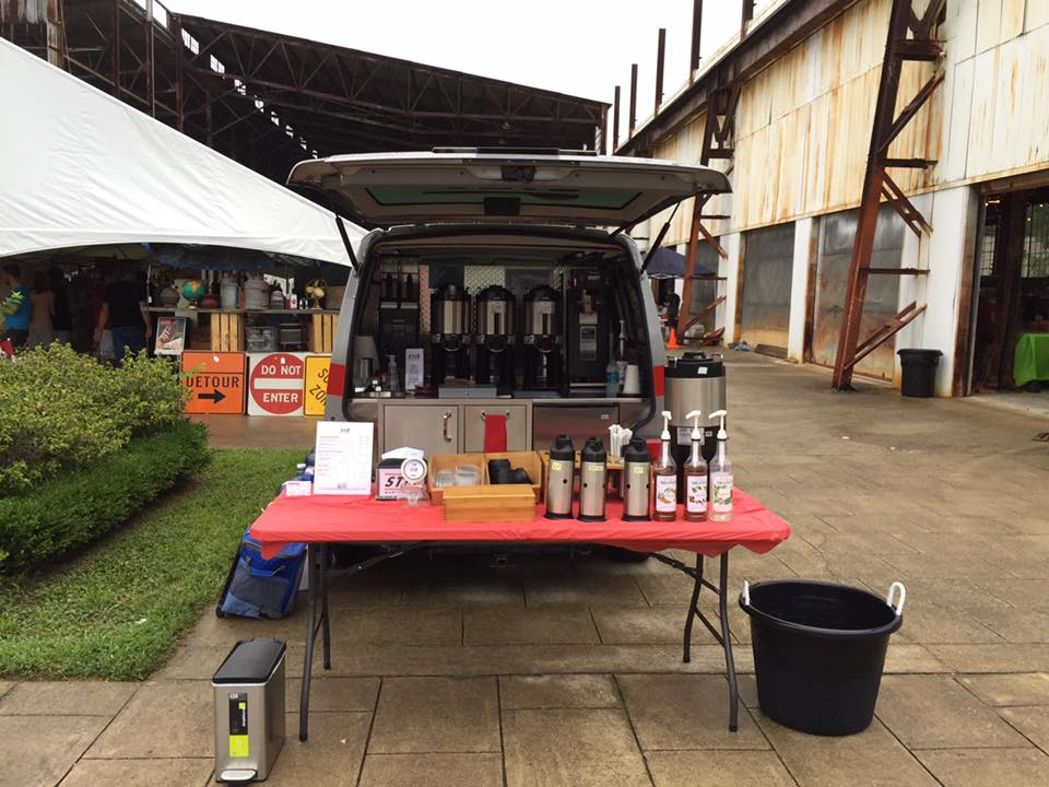STIR Mobile Coffee at The Stone Mill Market in 2016